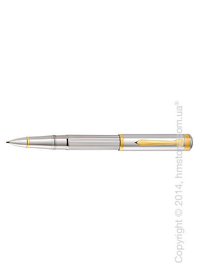Ручка роллер Pelikan серия Premium, коллекция Majesty R7000, Silver-Gold