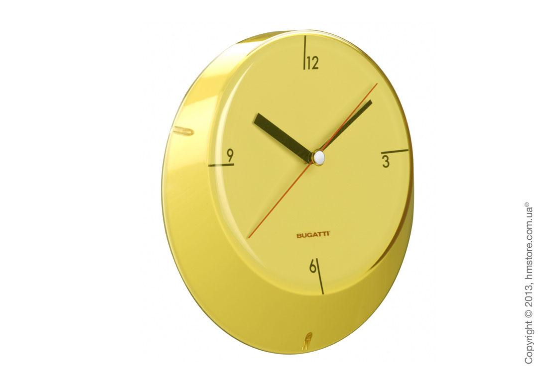 Часы настенные Bugatti Glamour, Желтые