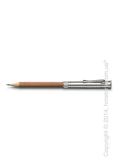 Карандаш Graf von Faber-Castell Perfect Pencil Platinum-Plated, Brown