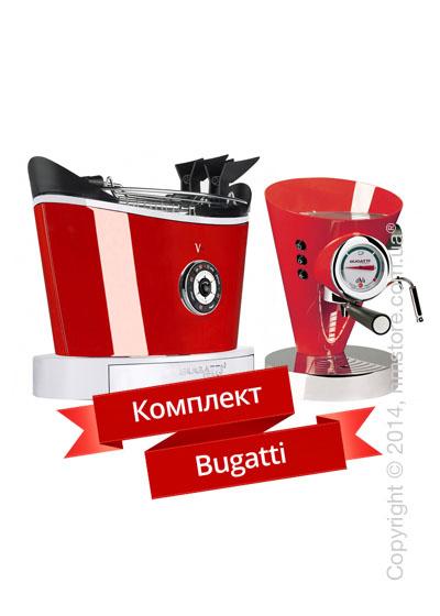 Комплект бытовой техники Bugatti, Red