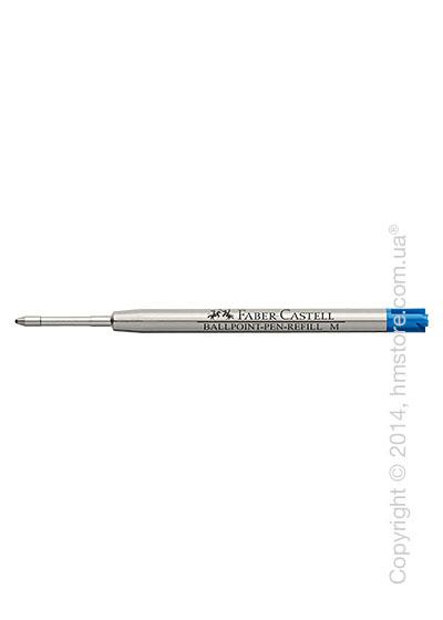 Сменный стержень Faber-Castell для ручки шариковой, толщина M, Синего цвета