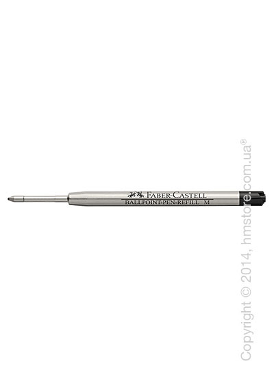 Сменный стержень Faber-Castell для ручки шариковой, толщина M, Черного цвета