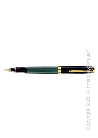 Ручка роллер Pelikan серия Premium, коллекция Souveran R600, Black-Green