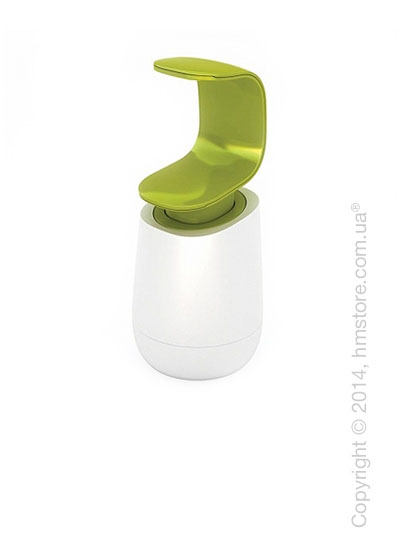 Диспенсер для жидкого мыла Joseph Joseph C-Pump, White and Green