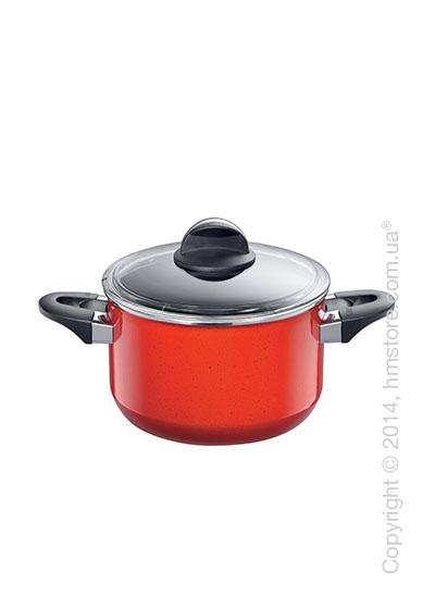 Кастрюля высокая Silit Rojo 3,7 л, Красная