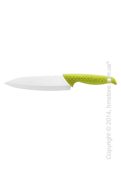 Нож керамический Bodum Bistro, Зеленый