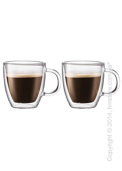 Набор чашек Bodum Bistro 310 мл, на 2 персоны