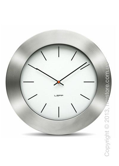 Часы настенные LEFF Amsterdam wall clock bold35 white index