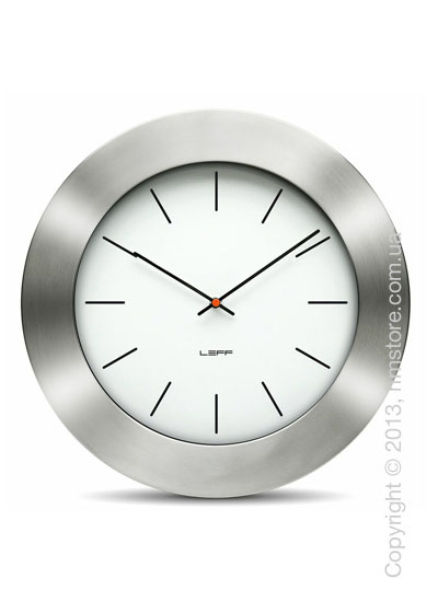 Часы настенные LEFF Amsterdam wall clock bold35 white index