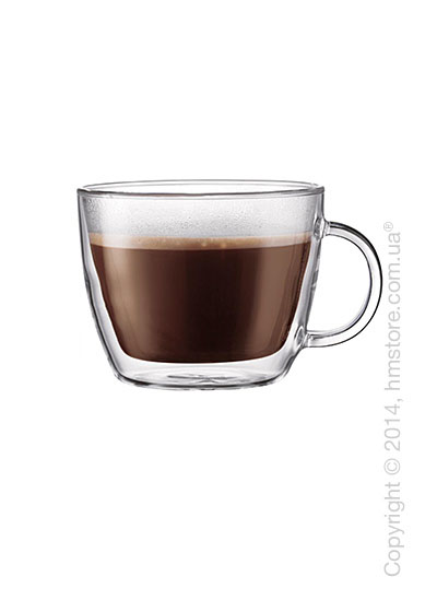 Набор чашек для латте Bodum Bistro 450 мл на 2 персоны