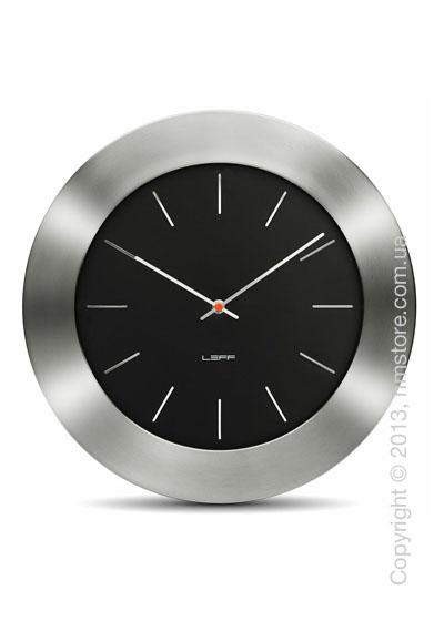 Часы настенные LEFF Amsterdam wall clock bold55 black index