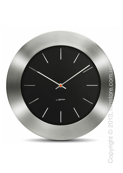 Часы настенные LEFF Amsterdam wall clock bold55 black index