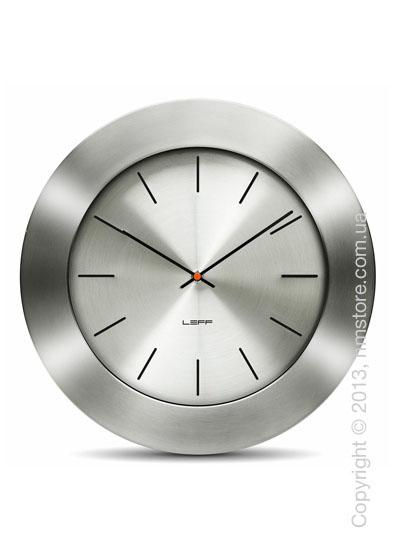Часы настенные LEFF Amsterdam wall clock bold55 steel index