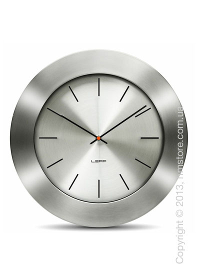 Часы настенные LEFF Amsterdam wall clock bold55 steel index