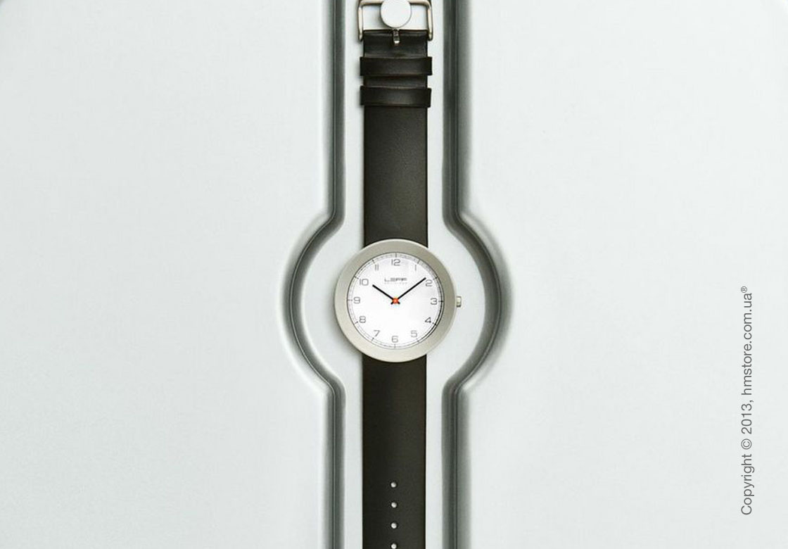 Часы настенные LEFF Amsterdam wall clock day and night white watch