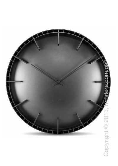 Часы настенные LEFF Amsterdam wall clock dome45 black