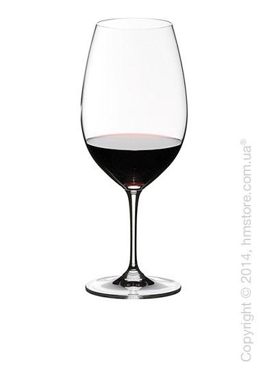Набор бокалов для красного вина Syrah and Shiraz Riedel Vinum 690 мл на 2 персоны
