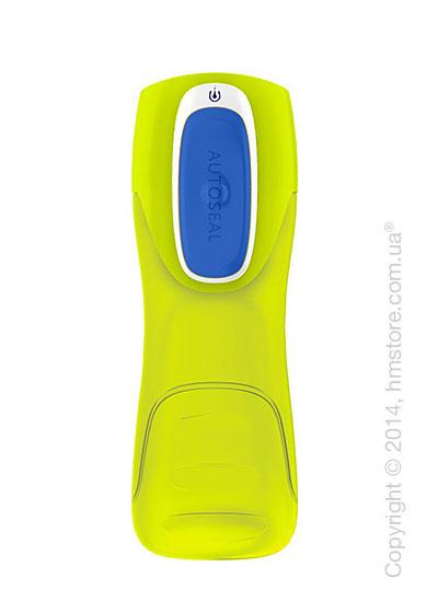 Бутылка спортивная детская Contigo Kids Trekker, Citrus-Blue 420 мл
