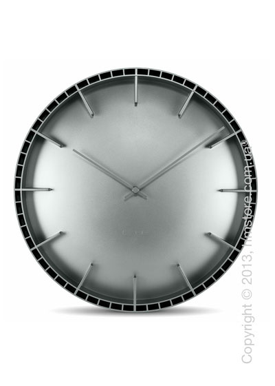 Часы настенные LEFF Amsterdam wall clock dome45 grey