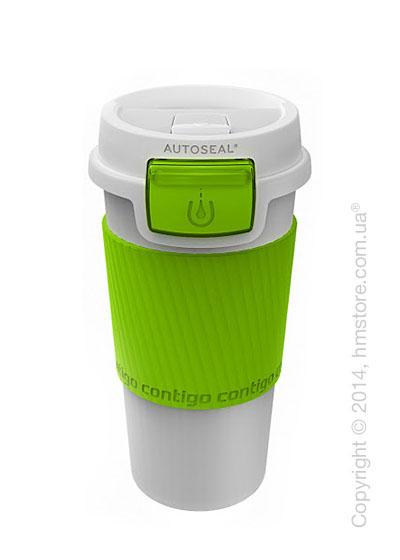 Термостакан Contigo Morgan, White-Citron 360 мл