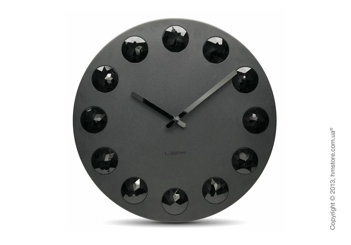Часы настенные LEFF Amsterdam wall clock facet55 black
