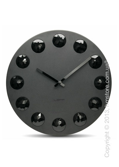 Часы настенные LEFF Amsterdam wall clock facet55 black