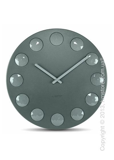 Часы настенные LEFF Amsterdam wall clock facet55 grey
