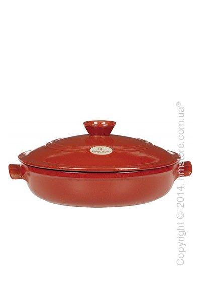Кастрюля керамическая Emile Henry Cookware Flame 3,2 л, Brick