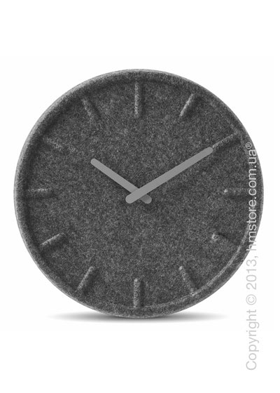 Часы настенные LEFF Amsterdam wall clock felt35 grey hands