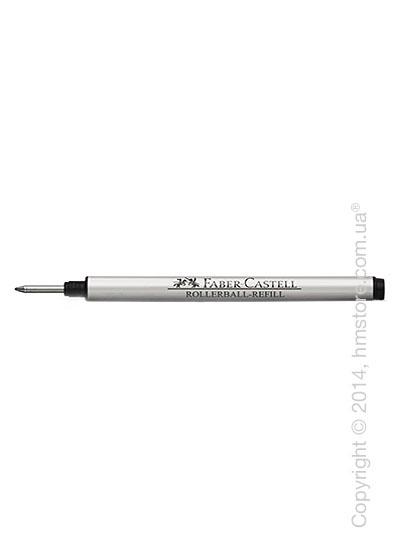 Сменный стержень Faber-Castell Magnum для ручки роллер серии Intuition, толщина F, Черного цвета