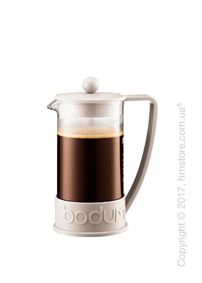 Кофейник френч-пресс Bodum Brazil 350 мл, White