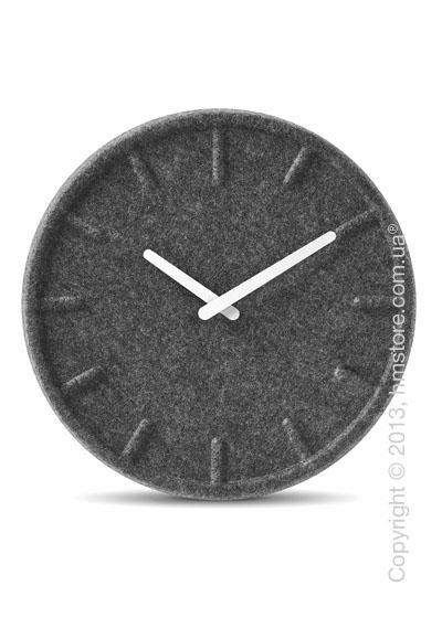 Часы настенные LEFF Amsterdam wall clock felt35 white hands