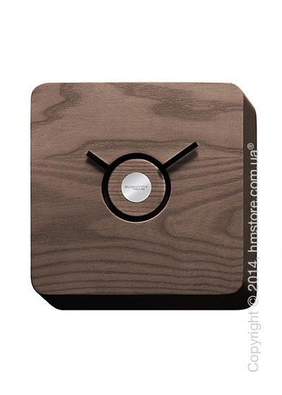 Часы настенные Bugatti Trattoria Wall Clock, Tobacco Coloured Wood
