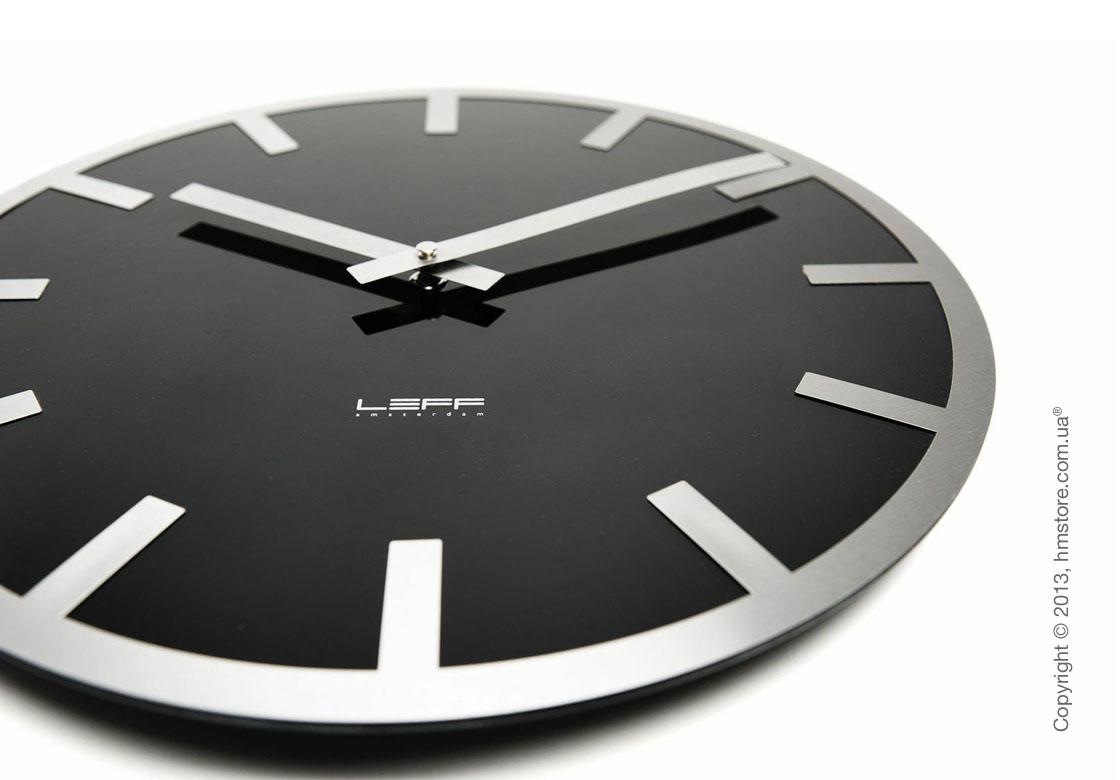 Часы настенные LEFF Amsterdam wall clock metlev35 black index
