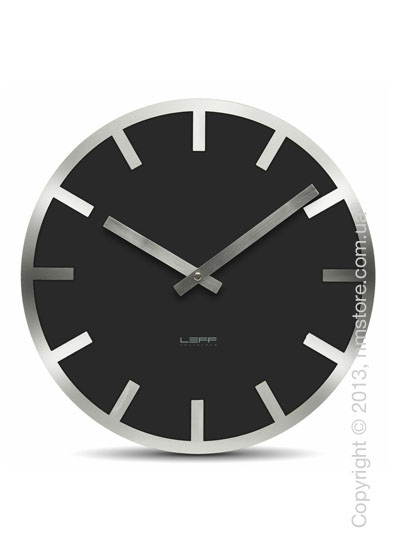 Часы настенные LEFF Amsterdam wall clock metlev35 black index