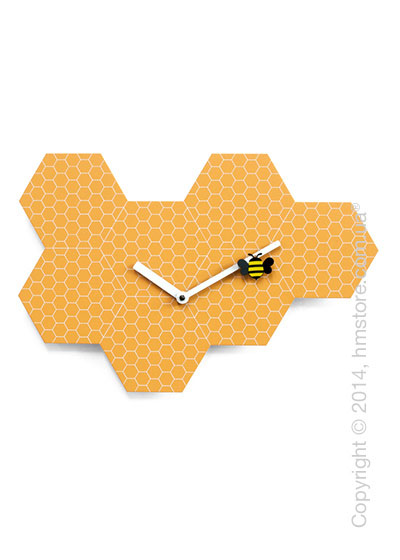Часы настенные Progetti Time2bee Wall Clock, Orange