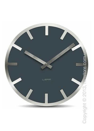Часы настенные LEFF Amsterdam wall clock metlev35 grey index