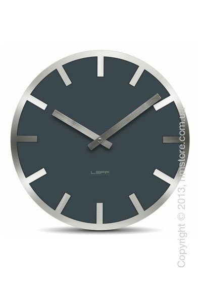 Часы настенные LEFF Amsterdam wall clock metlev35 grey index