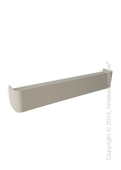 Полка Calligaris Bumper, Metal matt optic white