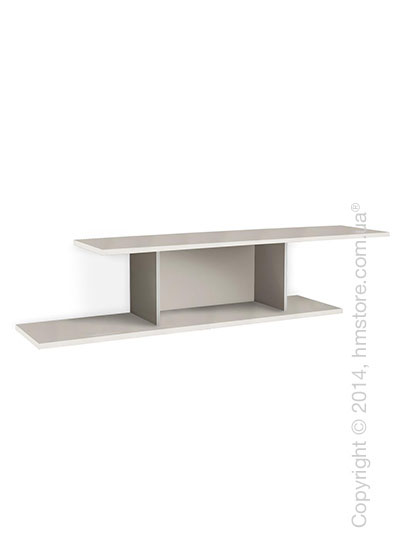Полка Calligaris Equal, Metal matt optic white and Finish optic white