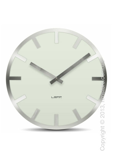 Часы настенные LEFF Amsterdam wall clock metlev35 white index