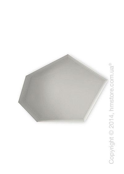 Полка Calligaris Moss, Metal matt optic white