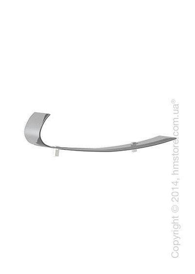 Полка Calligaris Blade, Frosted glass smoked grey