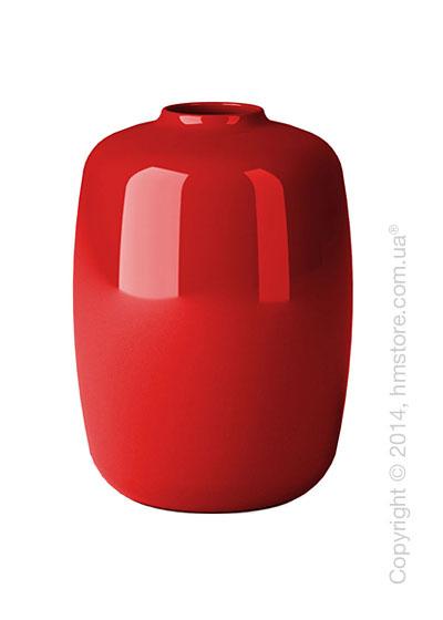 Ваза Calligaris Blanco M, Glass red