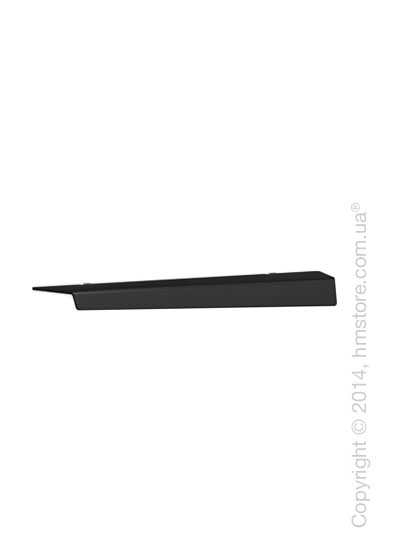 Полка Calligaris Bookie, Frosted glass black