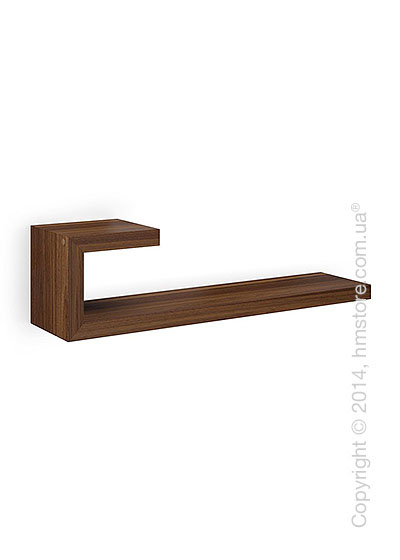 Полка Calligaris Seattle L, Veneer walnut