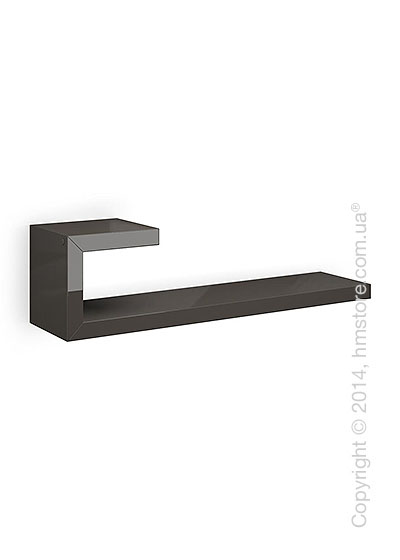 Полка Calligaris Seattle L, Lacquered glossy taupe
