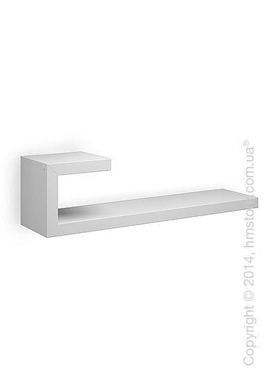 Полка Calligaris Seattle L, Lacquered glossy optic white