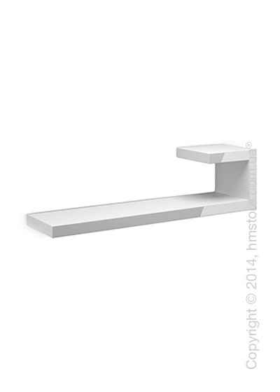 Полка Calligaris Seattle R, Lacquered glossy white