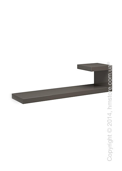 Полка Calligaris Seattle R, Lacquered glossy taupe